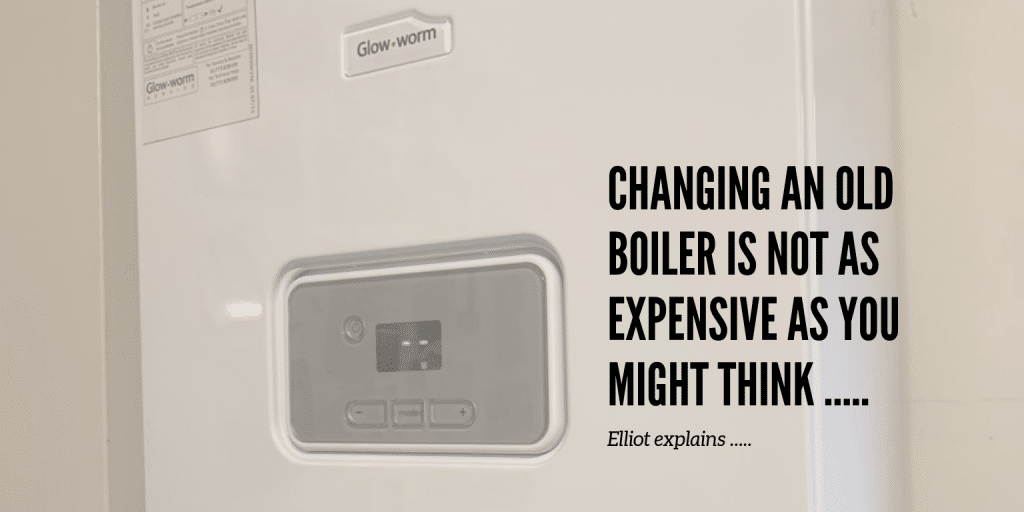 time to replace an old boiler and reduce energy bills