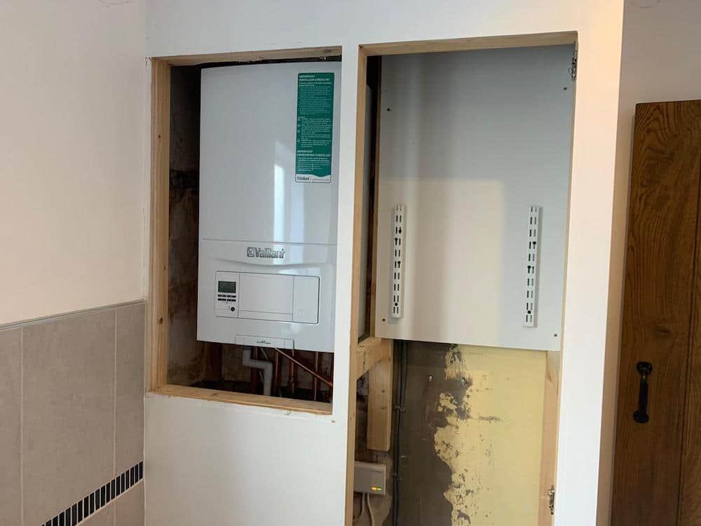 Vaillant Ecofit Pure825 install Corby